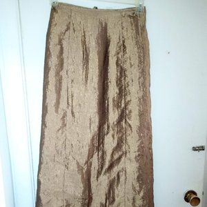 Free The People Gold Skirt (Maxi)